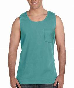 fort Colors 9330 Pocket Tank Top Greek Shirts