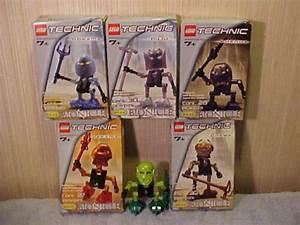 Lego Bionicle Turaga Set 6 Figures W  Weapons