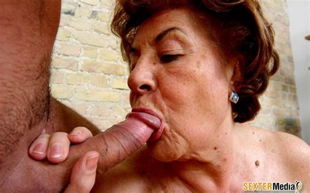 #Old #Granny #Wants #To #Swallow #Cum