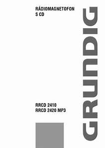 Grundig Rrcd 2410 Hifi System Download Manual For Free Now