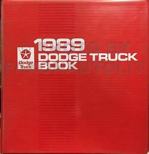 1989 Dodge Dakota Repair Shop Manual Original