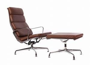 Sessel Ray Und Charles Eames : sessel ea 222 und ottoman ea 223 aluchair mit soft pad ~ Michelbontemps.com Haus und Dekorationen