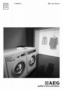 Aeg L98480fl Washing Machine User Manual