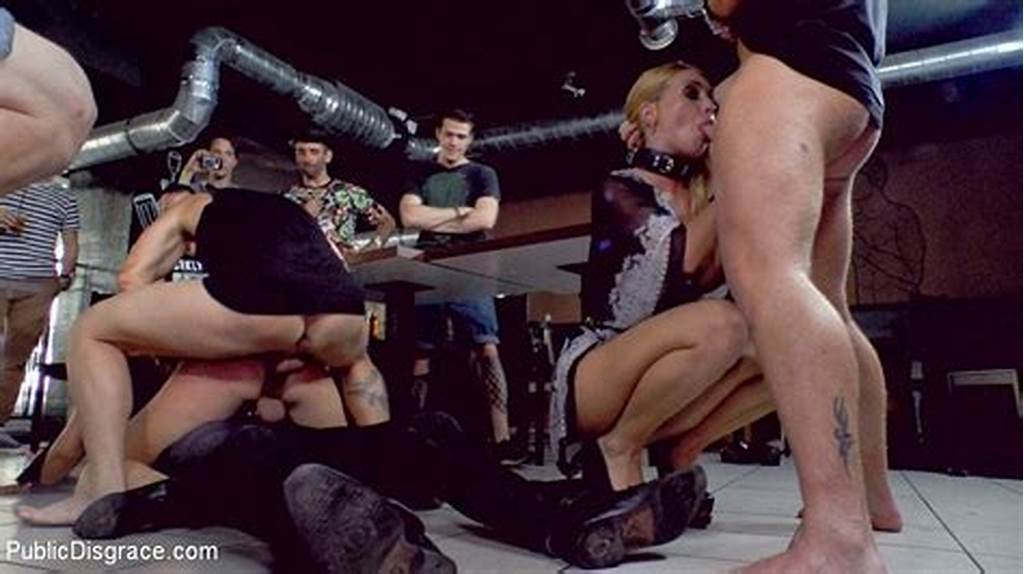#Isabella #Clark #And #Mandy #Public #Bdsm #Fucked #And #Humiliated
