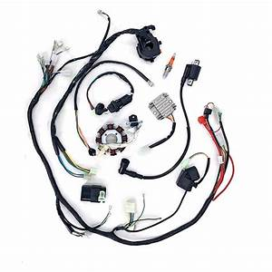 New 150cc 200cc 250cc Atv Quad Electric Wiring Harness