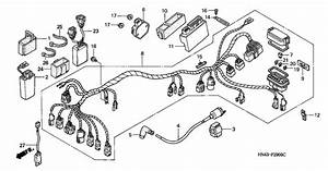 Wire Harness For 2000 Honda Trx 350