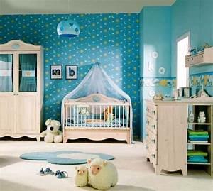 Baby Deko Zimmer : fr hliches babyzimmer mit tiermotiven ~ Eleganceandgraceweddings.com Haus und Dekorationen