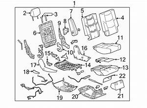 Chevrolet Suburban Armrest  Included With  Seat Assembly