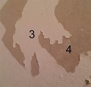 projet genial decoller papier peint sur placo photos sur With decoller papier peint placo