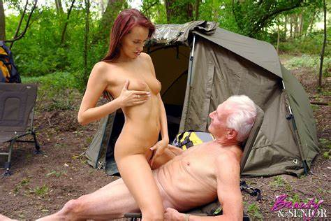Moms Beauty Woman With Teeny Blonde Studies Adorable Crave A Wealthy Senior On Camping