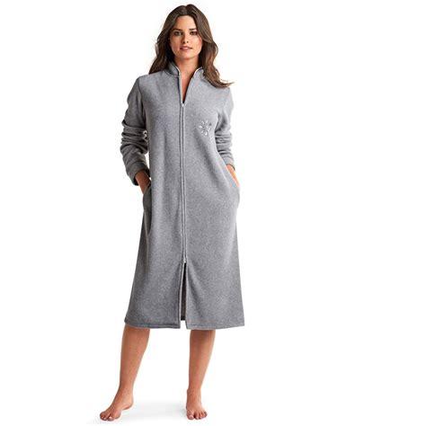 robe de chambre chaude femme robe de chambre femme avec fermeture eclair galerie avec