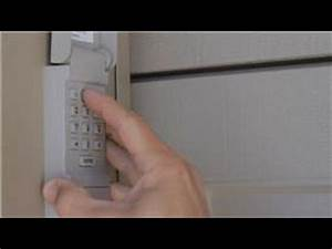 Garage Door Help   How To Reset A Garage Door Keypad