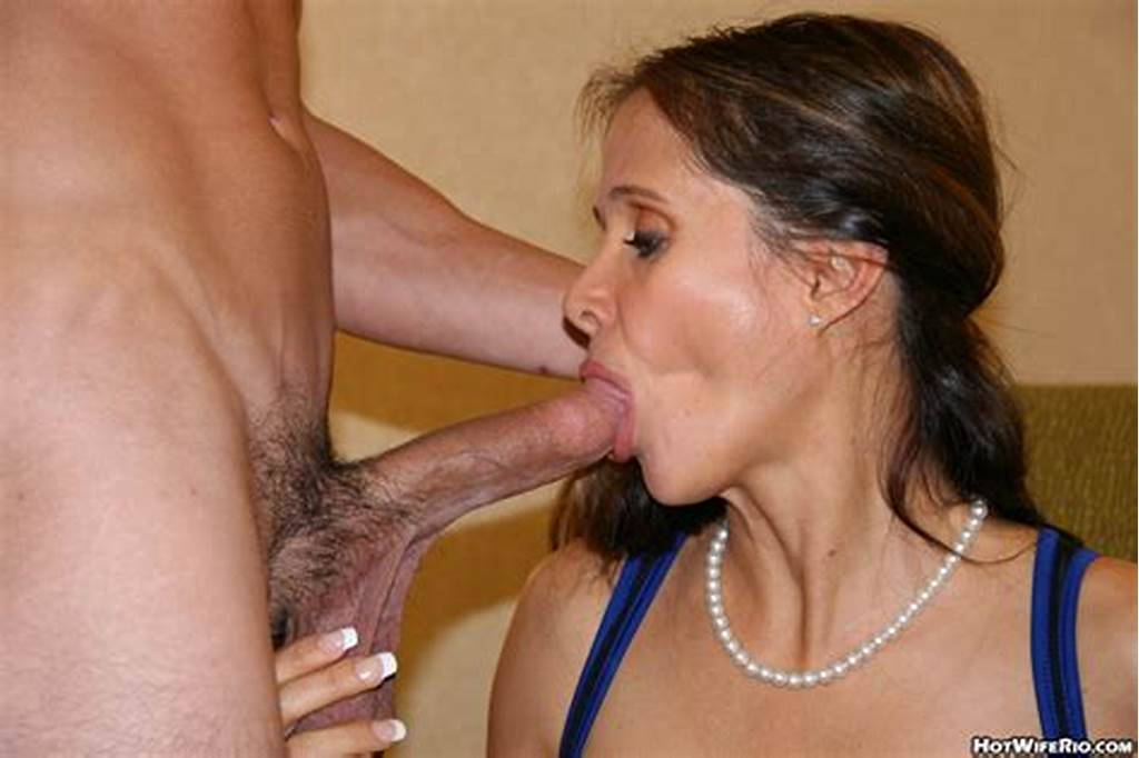 #Hot #Wife #Rio #Sucks #And #Fucks #Young #Man #Cock