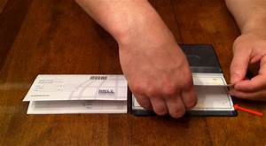 Learn How To Use A Checkbook Cover In 6 Steps