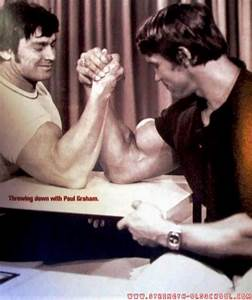 Paul Graham  The Promoter Of Mr  Olympia 1980  And Arnold Arm Wrestling In 1974 U2026  With Images