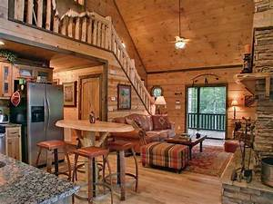 Image gallery log home decor for Log cabin living room decor