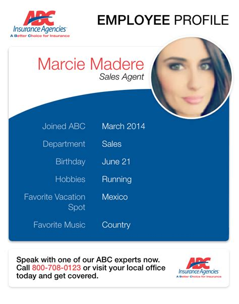 On the street of east judge perez drive and street number is 230. ABC Agent Profile: Marcie Madere | ABC Auto Insurance Blog