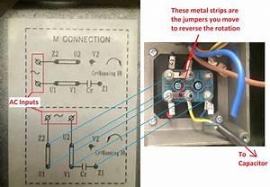 1ph Run Capacitor Wiring Diagram