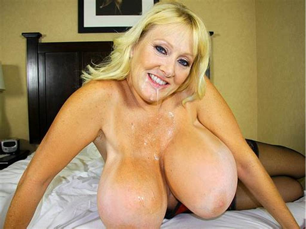 #Busty #Milf #Kayla #Kleevage #Bounces #Her #Monster #Tits #When