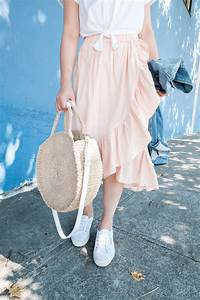 Ruffle Skirt Outfit | The Fancy Pants Report A San Francisco Style Blog