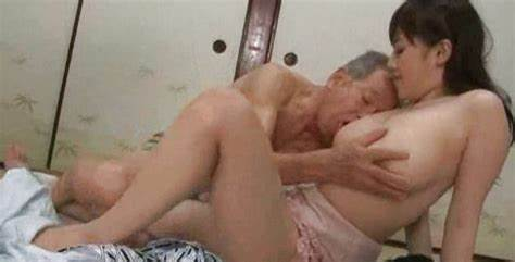 Older Asian Babe Seduces The Younger Man