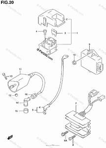 Suzuki Motorcycle 1999 Oem Parts Diagram For Electrical