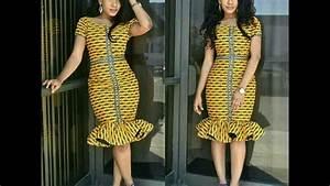 robe courte africaine de soiree youtube With modele de robe de soirée