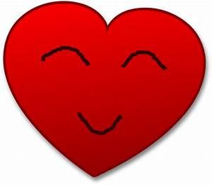 Smile Heart Clip Art at Clker.com - vector clip art online ...