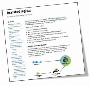 Improving The Assisted Digital Guidance And Assessment