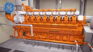Waukesha 275gl   The Most Efficient Natural Gas Engine In