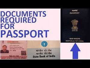 Documents required for passport 2016 youtube for Documents required for passport 2016