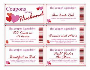 husband love couponsprintabledigitalstocking With coupon book for husband template