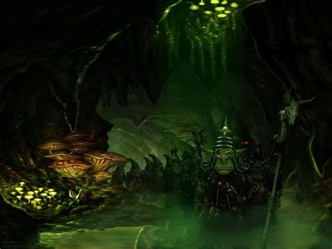 The goblin cave's best boards. My Free Wallpapers - Fantasy Wallpaper : Night Goblin Cave