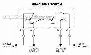 1996 Chevy Headlight Wiring : part 1 how to test the headlight switch 1994 1997 2 2l ~ A.2002-acura-tl-radio.info Haus und Dekorationen