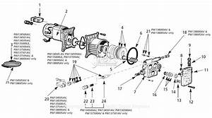 Campbell Hausfeld Pw1345b Parts Diagram For Pump Parts