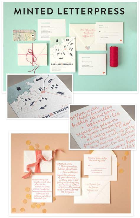 Minted Letterpress Wedding Invitations + A GIVEAWAY