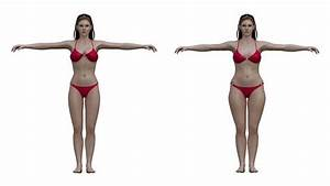 Perfect Woman  Study Reveals Ideal Female Body Type According To Men