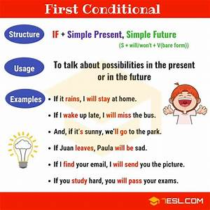 The, First, Conditional, A, Complete, Grammar, Guide, U2022, 7esl