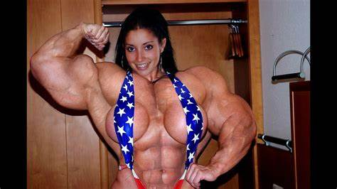 Muscle Lady Hates Fucks Exotic Clothes Junior Morph