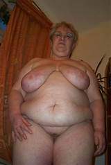 Mature granny fat amateur