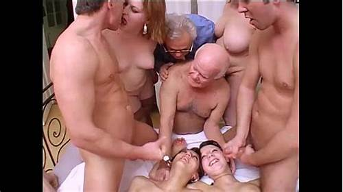 Crazy Messy With Perverted Bisexual #Crazy #Orgy #With #Grandpa #In #A #Dirty #And #Perverse #Family