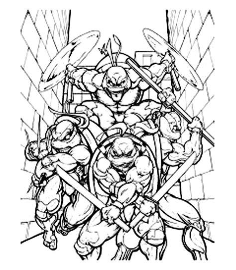 Ninja Turtles #75370 (Superhéroes) Colorear dibujos gratis