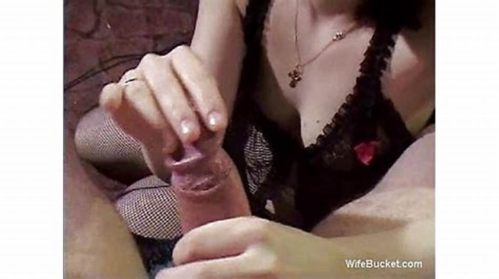 #Handjob #Surprise #From #Wife #As #She #Pokes #Finger #In