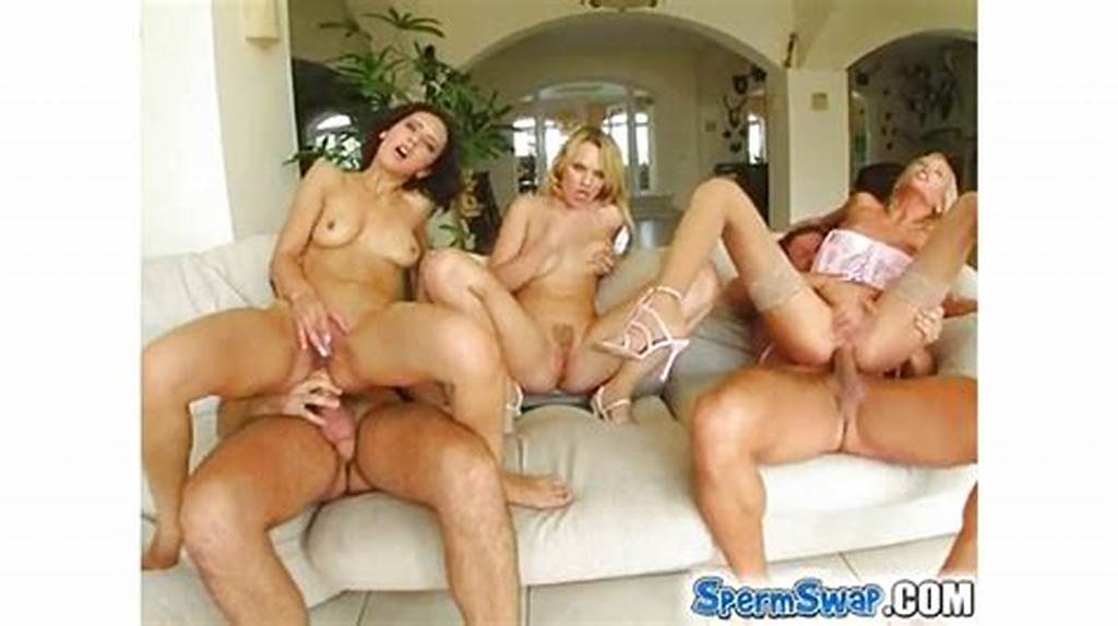 #Three #Super #Hot #Models #Pounded #Hard #With #Thick #Cum #Swap