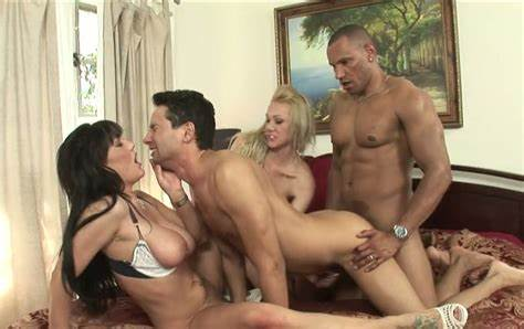 Superb Chick Orgy Invite Only Samantha Sin And Claire Dames In Lesbo Orgy Pounded With