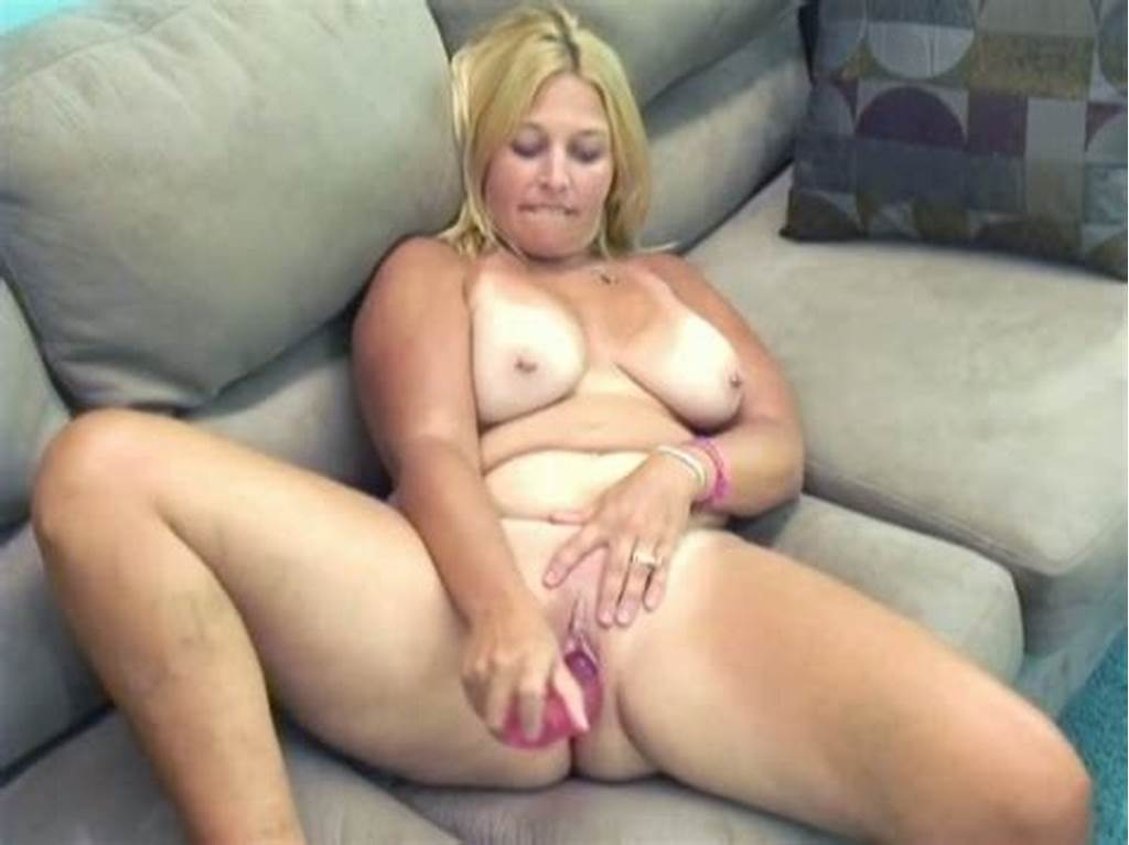 #Chubby #And #Bosomy #Blonde #Whore #Masturbates #With #A #Dildo