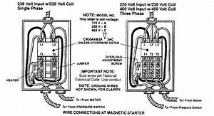 Oilless Air Compressor Single Phase Wiring Diagram