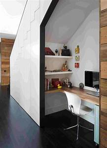 Rangement Sous Bureau : rangement sous escalier pour optimiser l 39 espace ~ Teatrodelosmanantiales.com Idées de Décoration