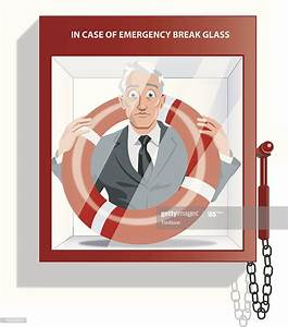 In Case Of Emergency Break Glass High-res Vector Graphic