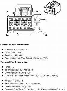 Need Radio Wire Diagrams For 2011 Gmc Serria 2500 Hd 4x4
